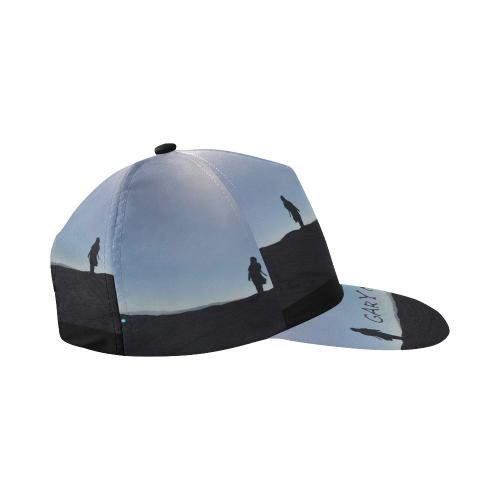 a3c16b10216 ... Gary Numan cap All Over Print Snapback Hat A ...