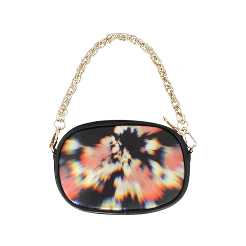 Abstract,colorful,prism,distorted,photo-effet,1 Chain Purse (Model 1626)