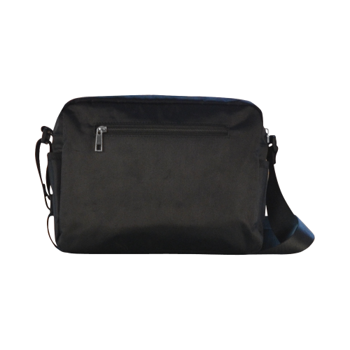 PopArt Salty on Gray Classic Cross-body Nylon Bags (Model 1632)