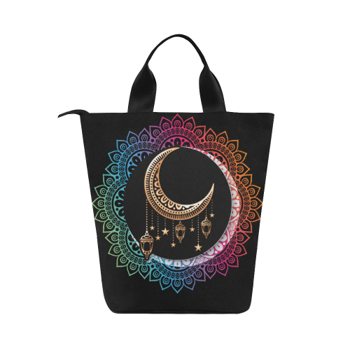 83ecbd73ac57 Arabian Night Mandala Nylon Lunch Tote Bag (Model 1670)