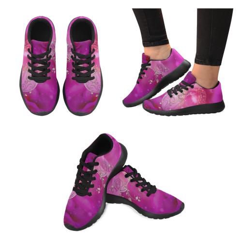 Wonderful floral design Men's Running Shoes/Large Size (Model 020)