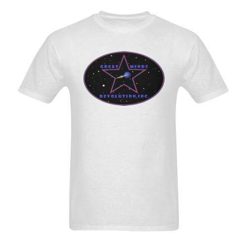 GM Rev, Inc. - logo - orig Sunny Men's T-shirt (USA Size) (Model T02)