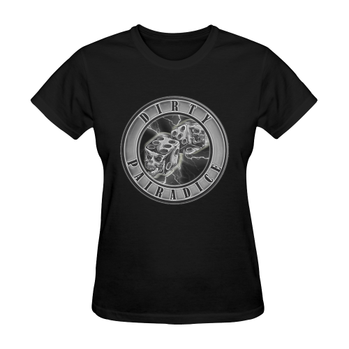 Purp Lightning Sunny Women's T-shirt (Model T05)