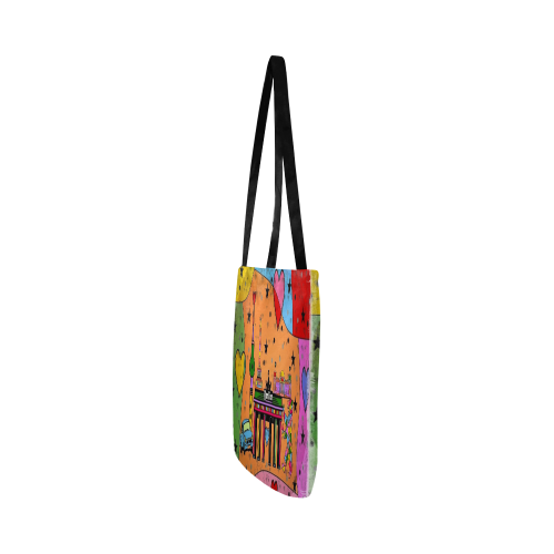 Berlin Popart by Nico Bielow Reusable Shopping Bag Model 1660 (Two sides)