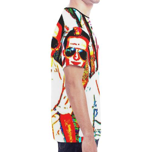 POSER PUNK New All Over Print T-shirt for Men (Model T45)