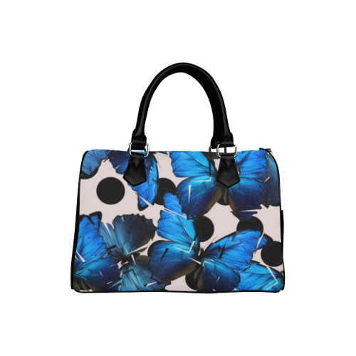 Shattered Butterfly Boston Handbag (Model 1621)