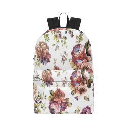 0706a2e74c92 Textured Flowers Pink Unisex Classic Backpack (Model 1673)