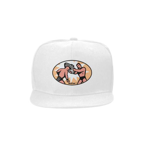 Trash Can Lid Shot - orig Unisex Snapback Hat