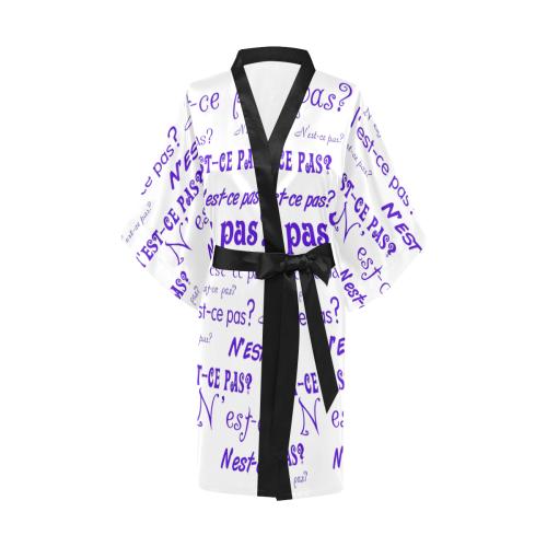 Purple N'est-ce pas Kimono Robe