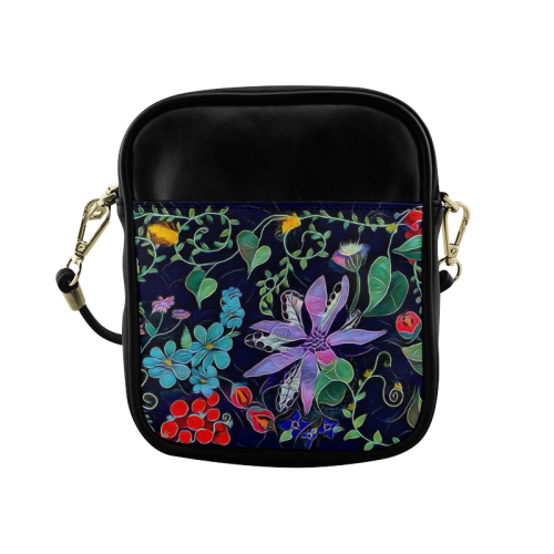 Wild Flower Sling Bag (Model 1627)
