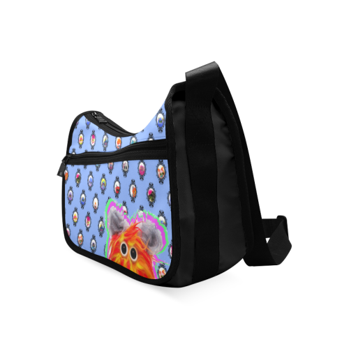 PopArt CluckCluck Slouchie Crossbody Bags (Model 1616)