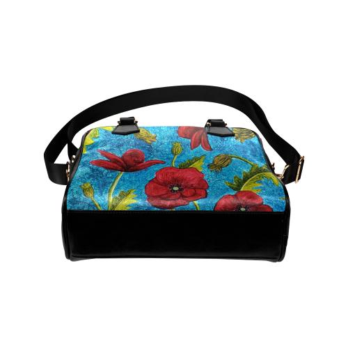 Poppies Shoulder Handbag (Model 1634)