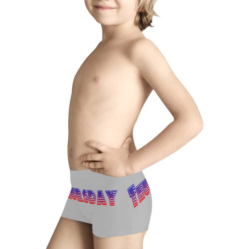 American Thursday Kids' All Over Print Boxer Briefs (Model L24)