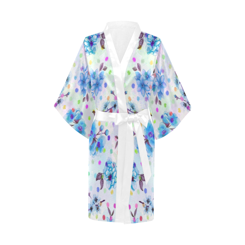Watercololor Pink Blossoms Wallpaper Trend 2 Kimono Robe