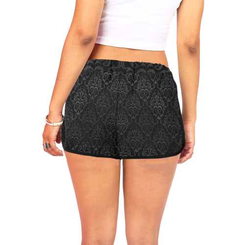 copy Women's All Over Print Relaxed Shorts (Model L19)