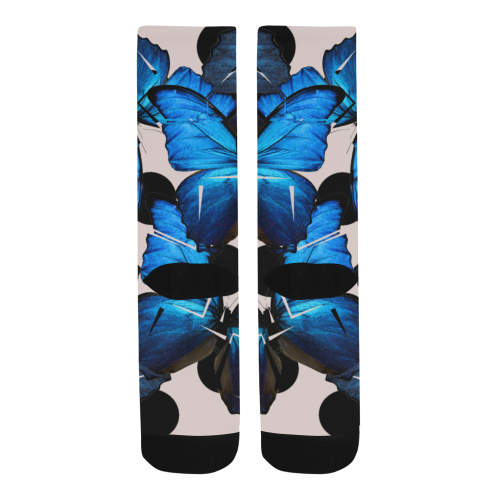 Shattered Butterfly Trouser Socks