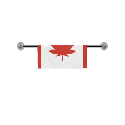"""O Canada Hemp Flag (NSFW Parody) Square Towel 13""""x13"""""""
