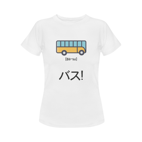 busjapanshirtwomen Women's Classic T-Shirt (Model T17)