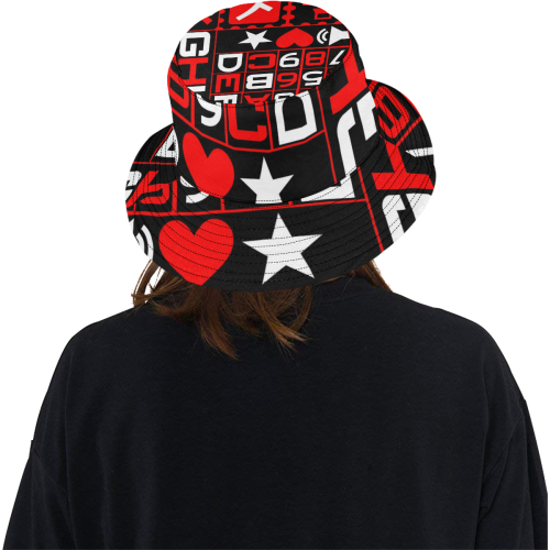 fbccc0698eb ... DESIGN WORK-117 All Over Print Bucket Hat ...