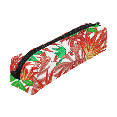 Pretty Leaves 4B by JamColors Pencil Pouch/Small (Model 1681)