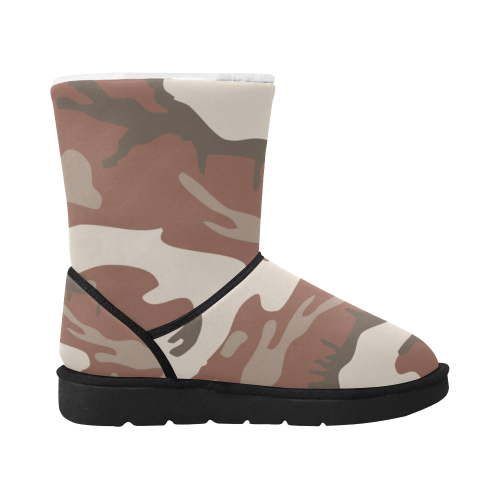 Outer Heaven Paintball Boots 3 Unisex Single Button Snow Boots (Model 051)