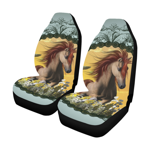 Beautiful Horse Car Seat Covers Set Of 2