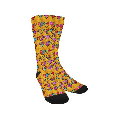 Love Popart by Nico Bielow Trouser Socks