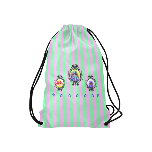 """Formation1 Small Drawstring Bag Model 1604 (Twin Sides) 11""""(W) * 17.7""""(H)"""