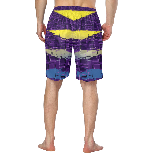 zappwaits sw002 Men's Swim Trunk/Large Size (Model L21)