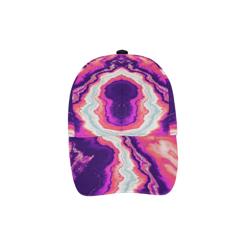 d859529097307 ... Pink and Purple Geode All Over Print Baseball Cap B ...