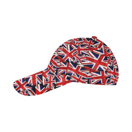 d6d901f4bd6 Union Jack British UK Flags All Over Print Baseball Cap B