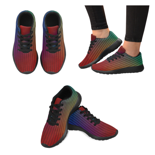 color gradient 02 Women's Running Shoes (Model 020)
