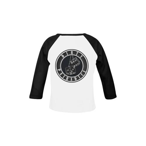 dp Baseball Baby Organic Long Sleeve Shirt (Model T31)