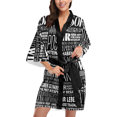 German House Rules - POSITIVE HAUSORDNUNG 2 Kimono Robe