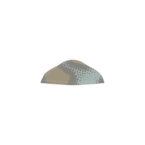 Ethno cmu BLOCKS shoes Unisex Single Button Snow Boots (Model 051)