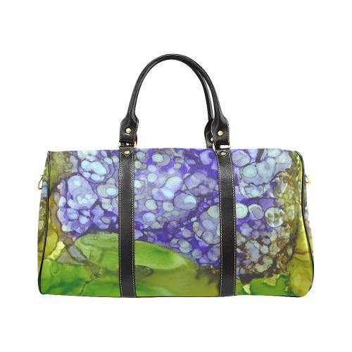 Hydrangea New Waterproof Travel Bag/Large (Model 1639)