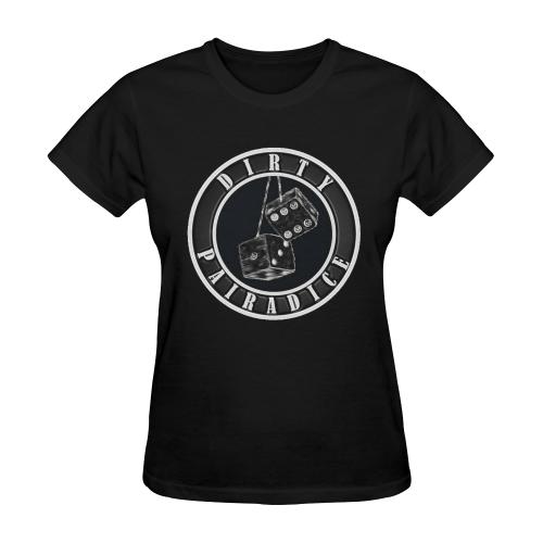 dp dice ole skoo Women's Tee Sunny Women's T-shirt (Model T05)