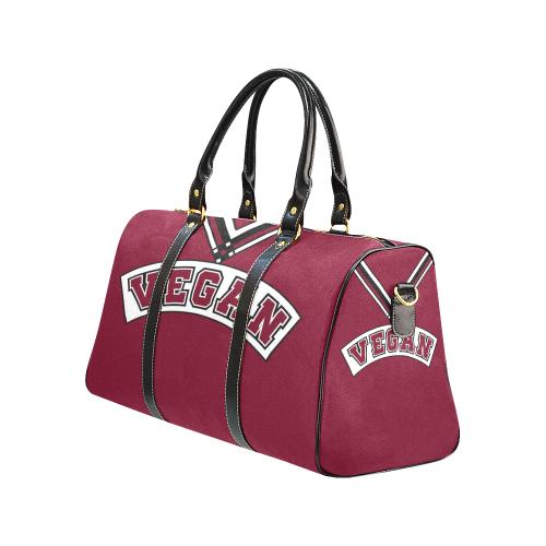 ... Vegan Cheerleader New Waterproof Travel Bag Large (Model 1639) ... a19405d959e06