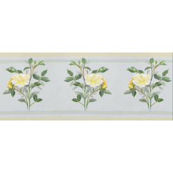 """Yellow roses, floral watercolor Gift Wrapping Paper 58""""x 23"""" (1 Roll)"""
