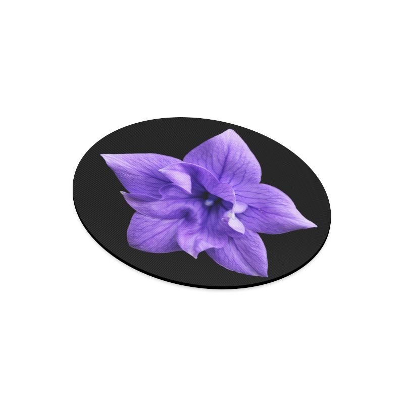Balloon Flower Round Mousepad