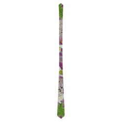 Digitalis Purpurea Flora Classic Necktie (Two Sides)