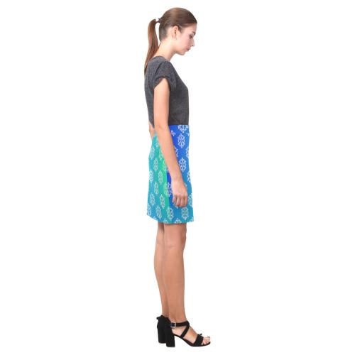 mandale flower Nemesis Skirt (Model D02)