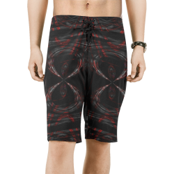 5000TRYtwo2 106 dEEP mONSTER  25 Men's All Over Print Board Shorts (Model L16)