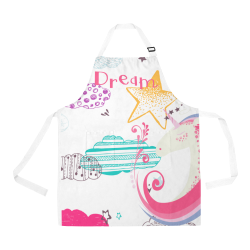 Unicorn Dream All Over Print Apron