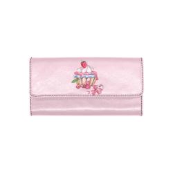 cupcake Women's Trifold Wallet (Model 1708)