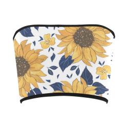 Sunflowers Bandeau Top