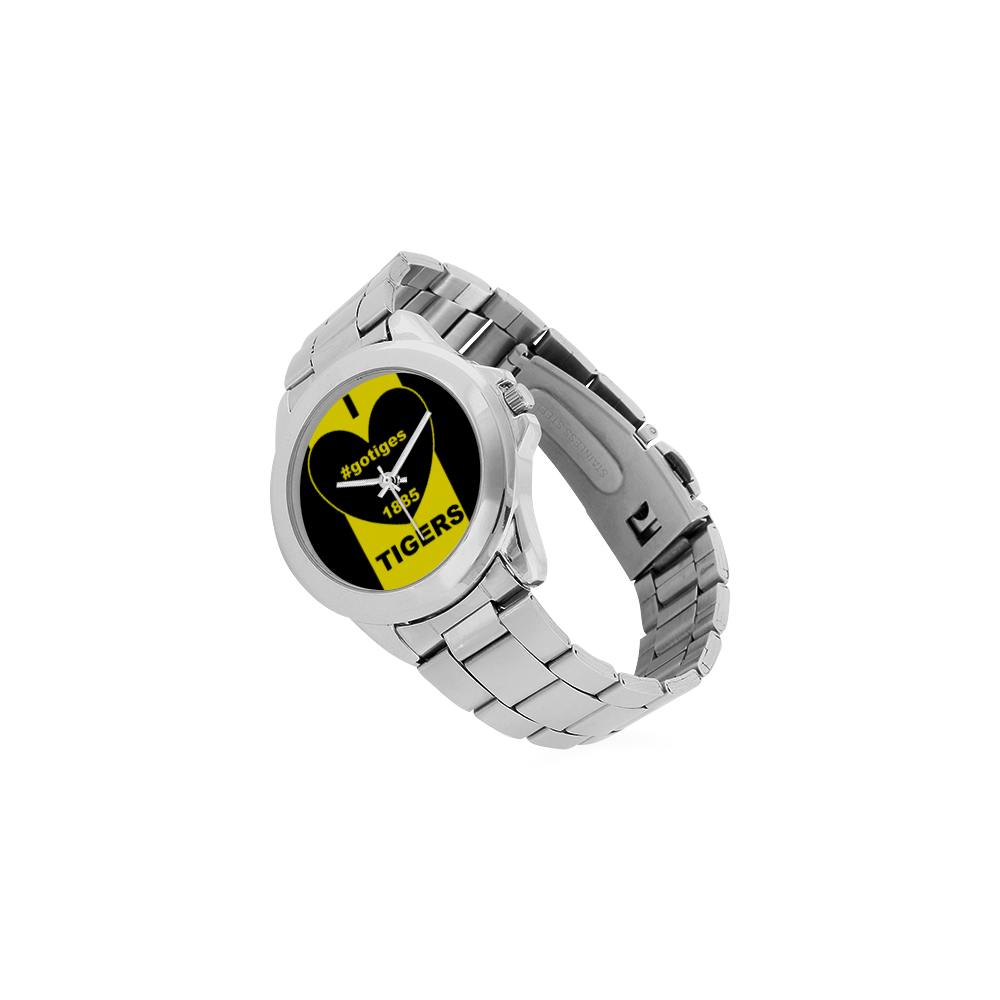 TIGERS- Unisex Stainless Steel Watch(Model 103)