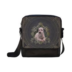 Cute dalmatian Crossbody Nylon Bags (Model 1633)