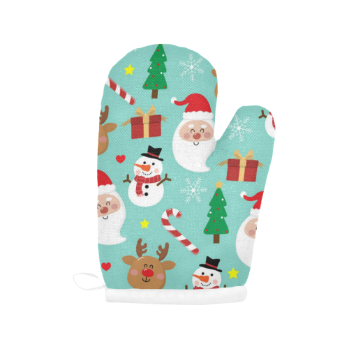 Holiday - Christmas Oven Mitts Oven Mitt (Two Pieces)