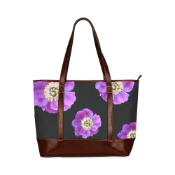 Fairlings Delight's Floral Luxury Collection- Purple Beauty 53086a6 Tote Handbag (Model 1642)